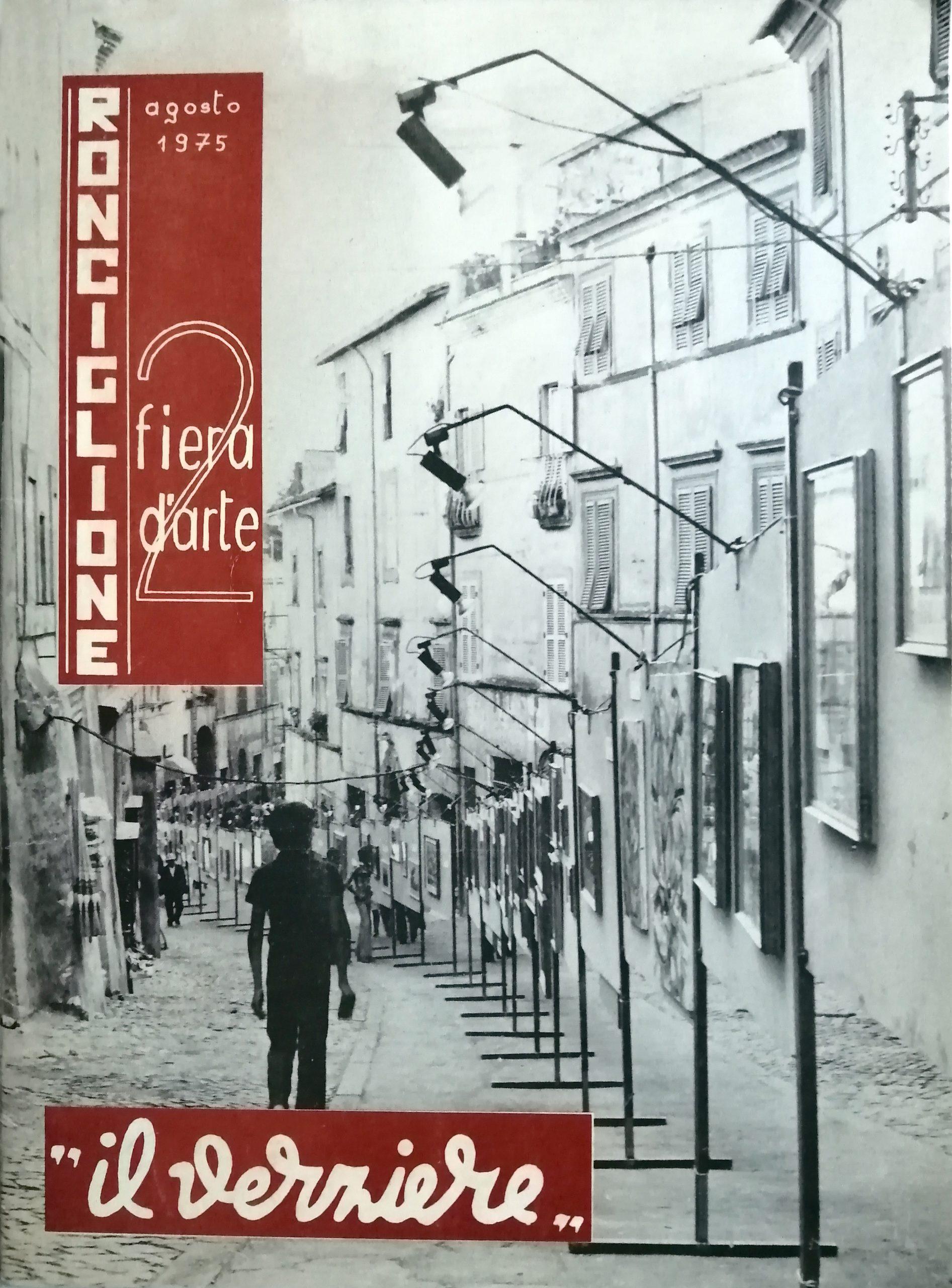 1975 2 Fiera dArte Comune di Ronciglione  scaled - Bibliography/ Catalogues