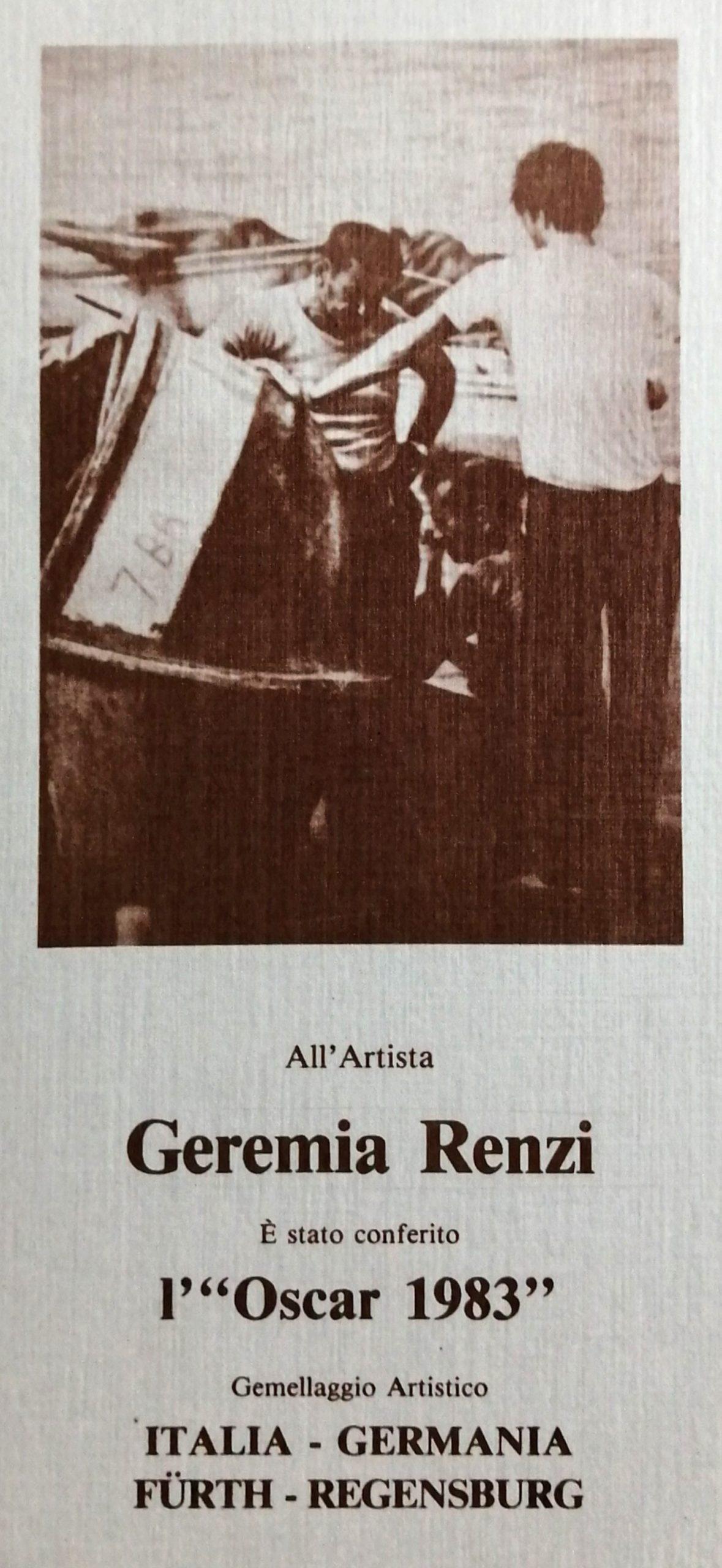 1983 Gemellaggio Italia Germania Furth Regensburg 1 scaled - Bibliography/ Catalogues