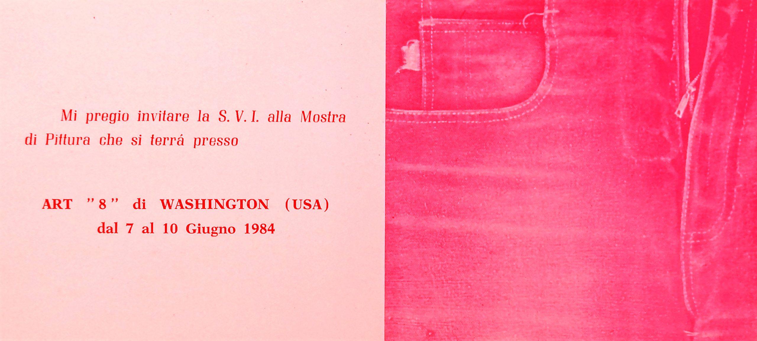 1984 ART 8 Washington USA scaled - Bibliography/ Catalogues