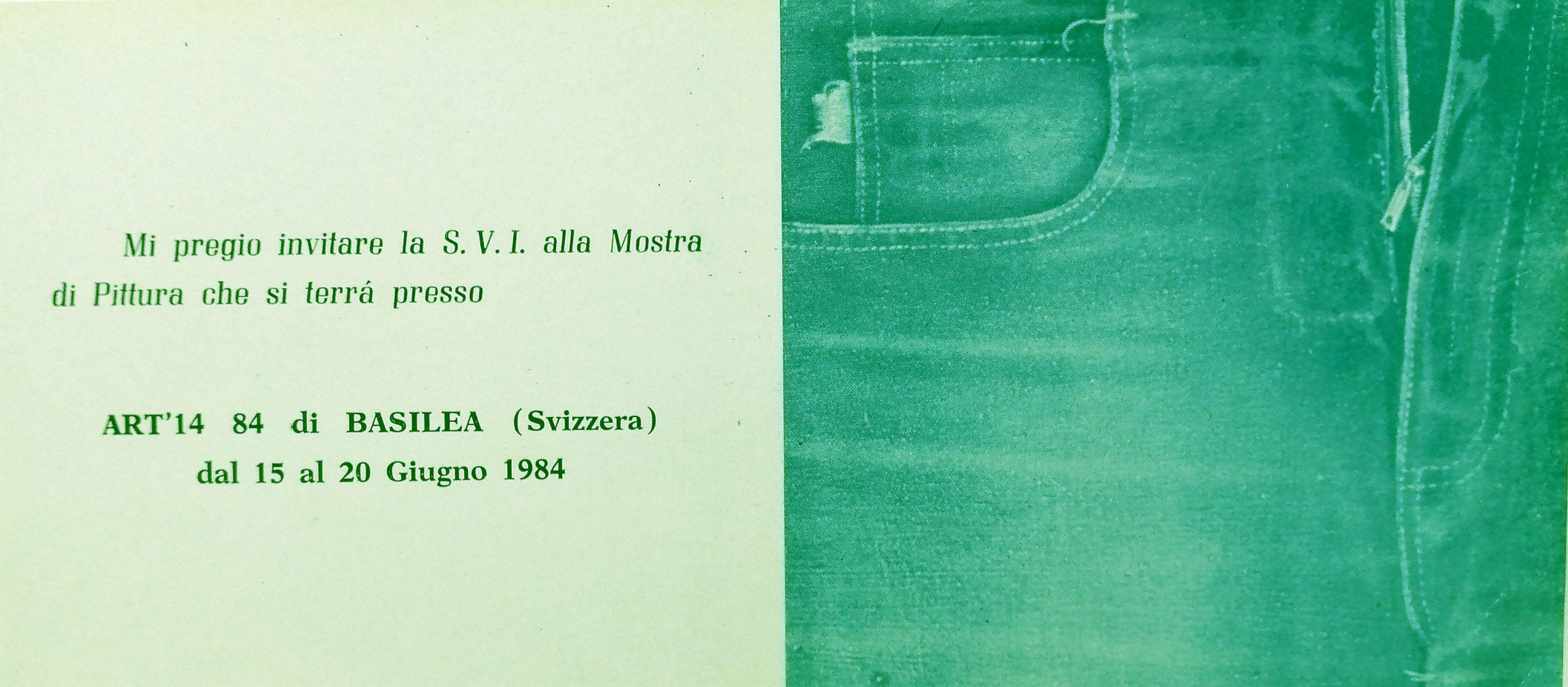 1984 ART14 84 di Basilea Svizzera scaled - Bibliography/ Catalogues