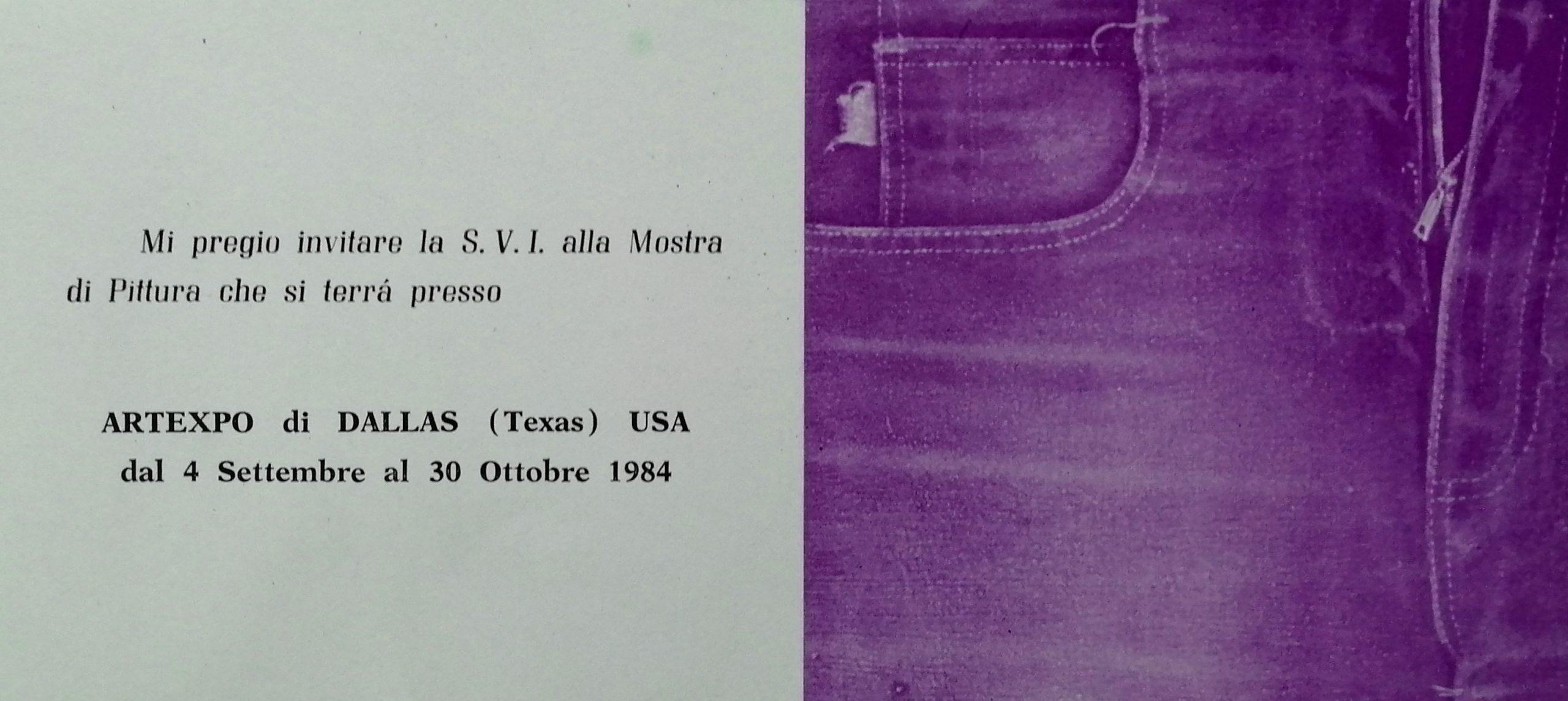 1984 Artexpo Dallas Texas scaled - Bibliography/ Catalogues