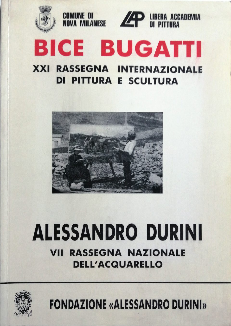 1991 Bice Bigatti XXI Rassegna Nova Milanese 960x1354 - Bibliography/ Catalogues
