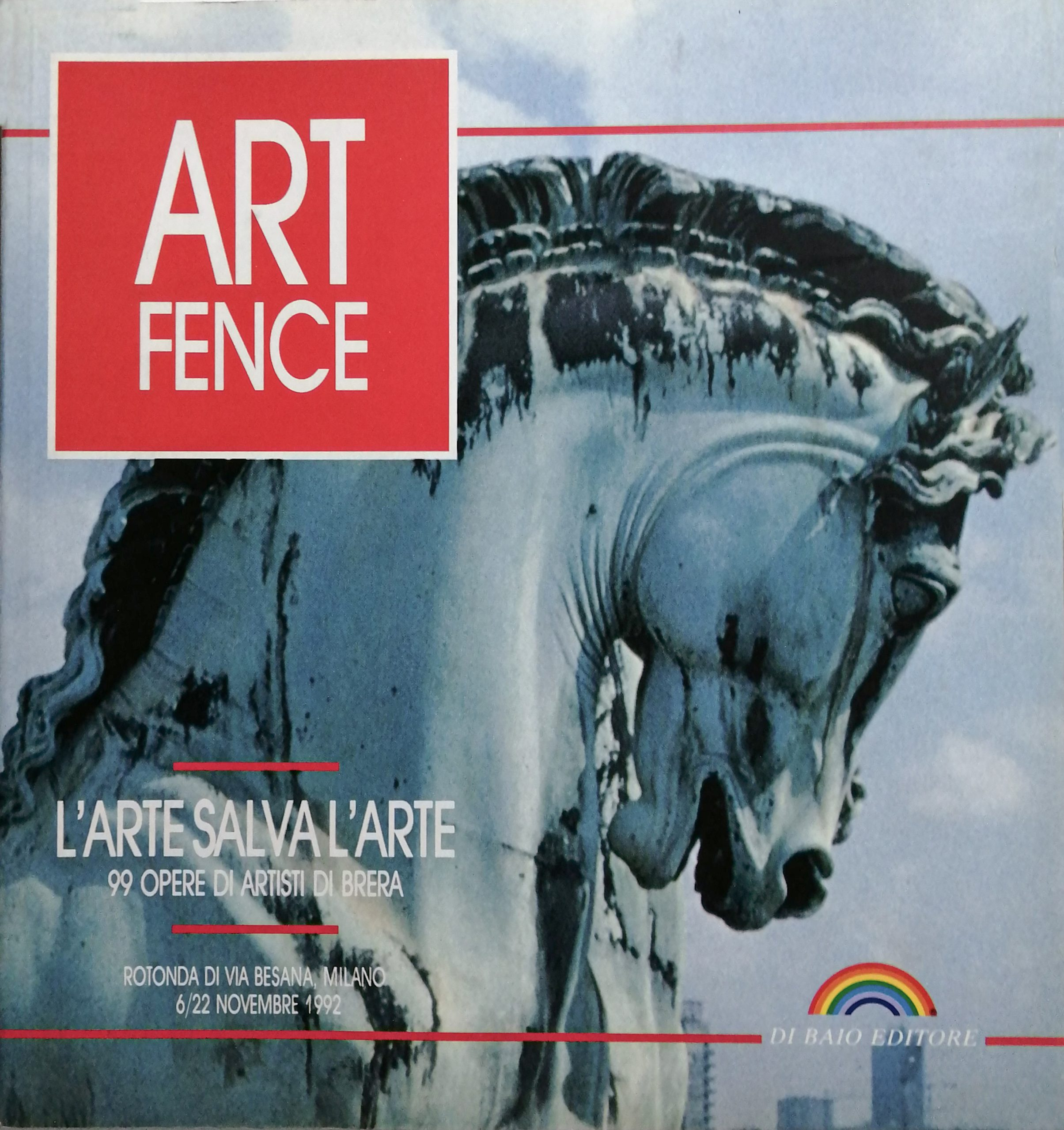 1992 Art Fence Rotonda della Besana Milano scaled - Bibliography/ Catalogues