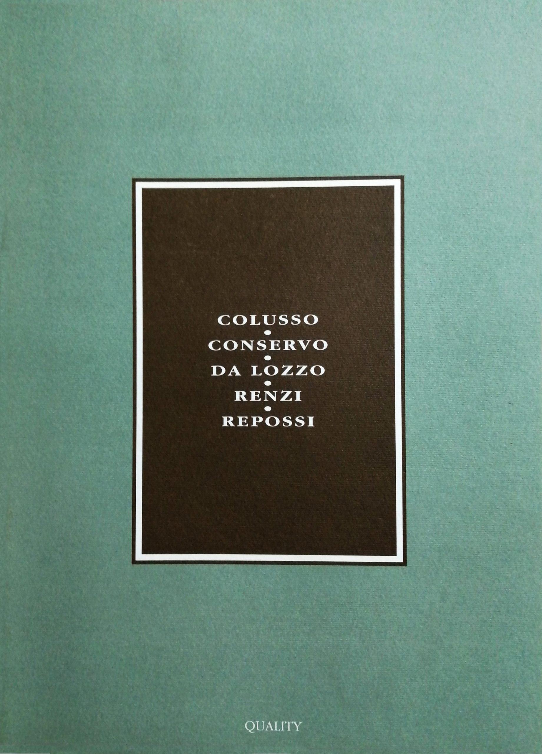 1994 Artisti del Melograno Palazzo del Podestà CastellArquato PC scaled - Bibliography/ Catalogues