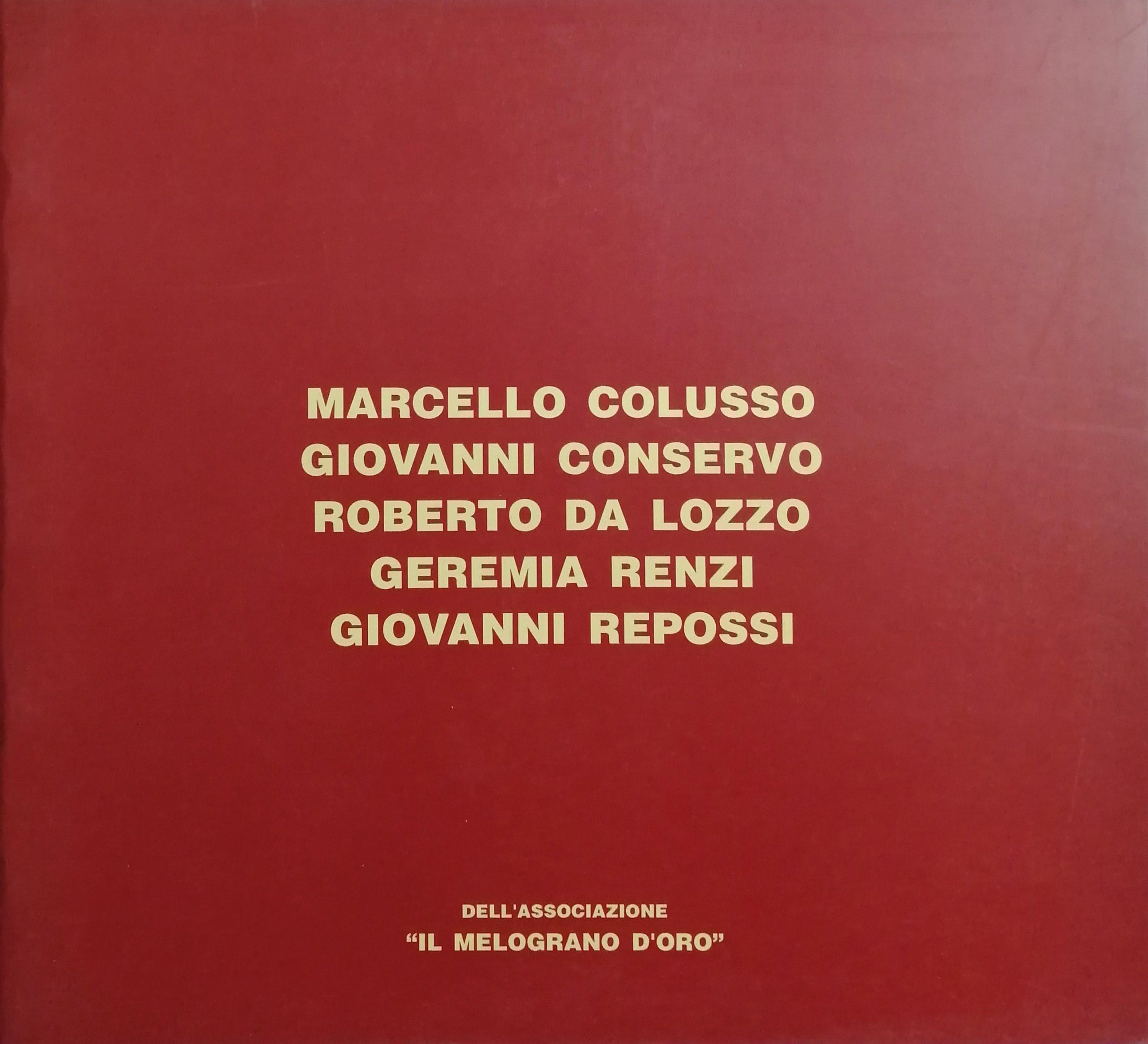 1994 Catalogo Il Melograno doro scaled - Bibliography/ Catalogues