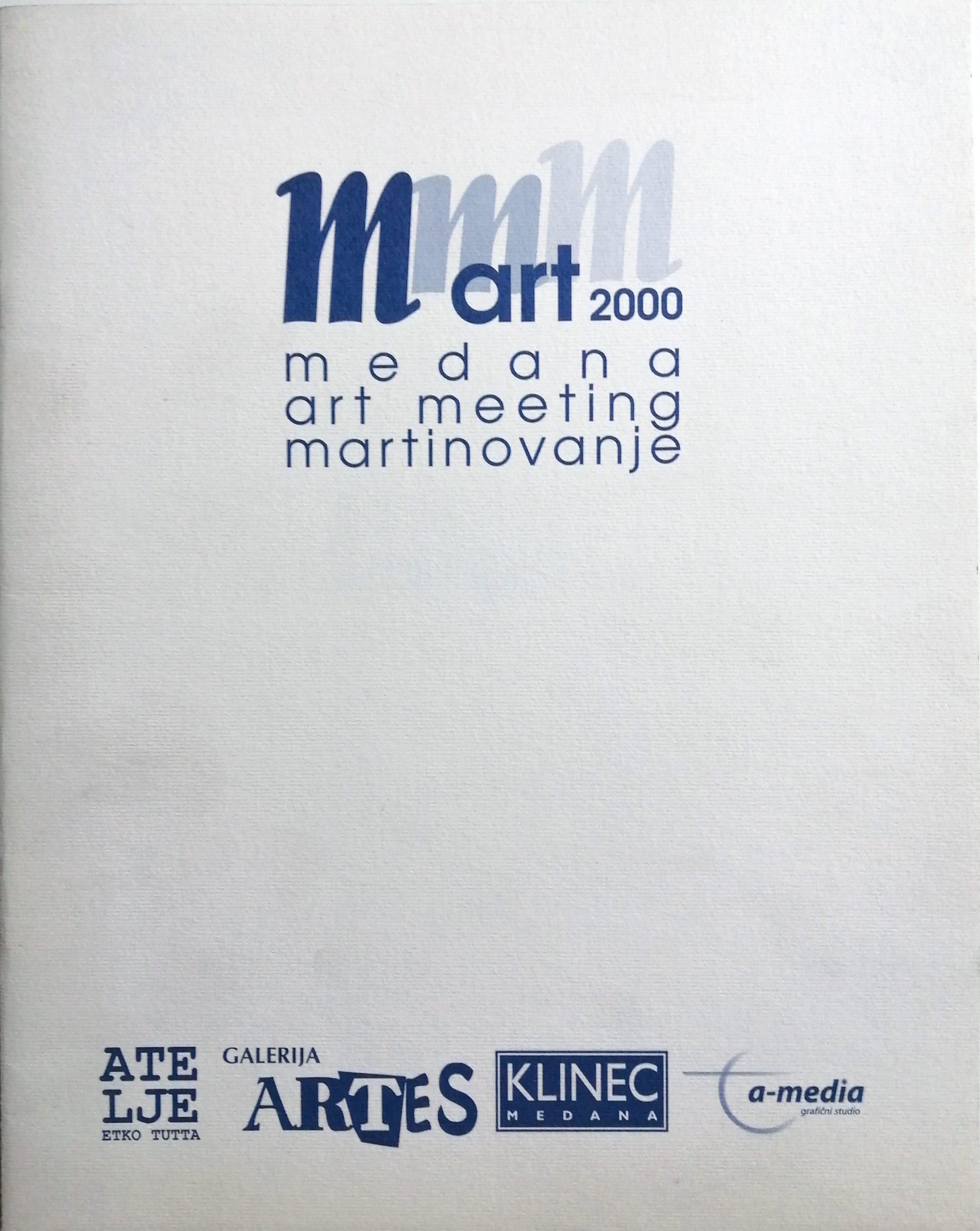 2000 MmmArt Galerija Artes Medana  scaled - Bibliography/ Catalogues
