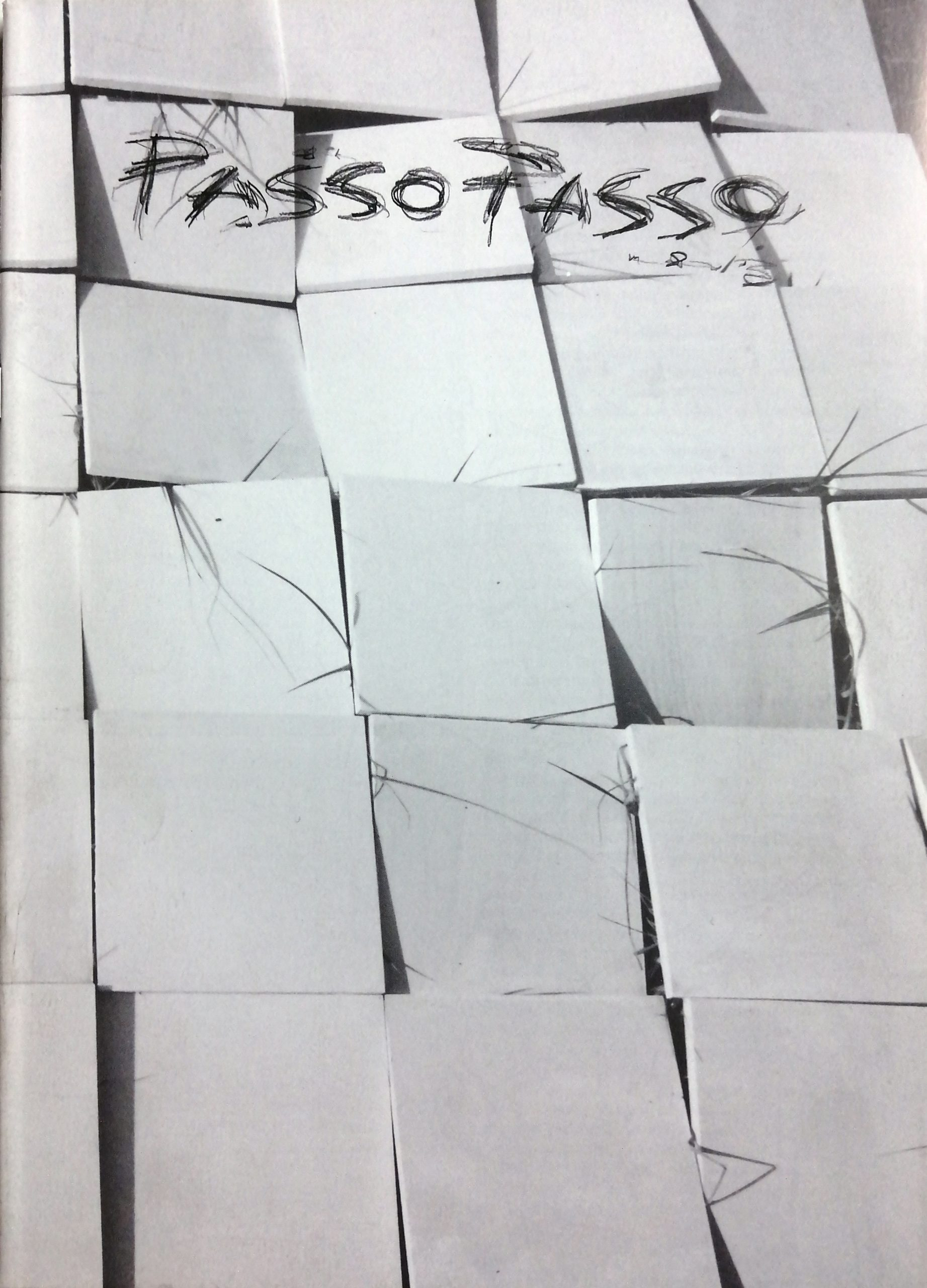 2000 Passopasso 1 rivista catalogo scaled - Bibliography/ Catalogues