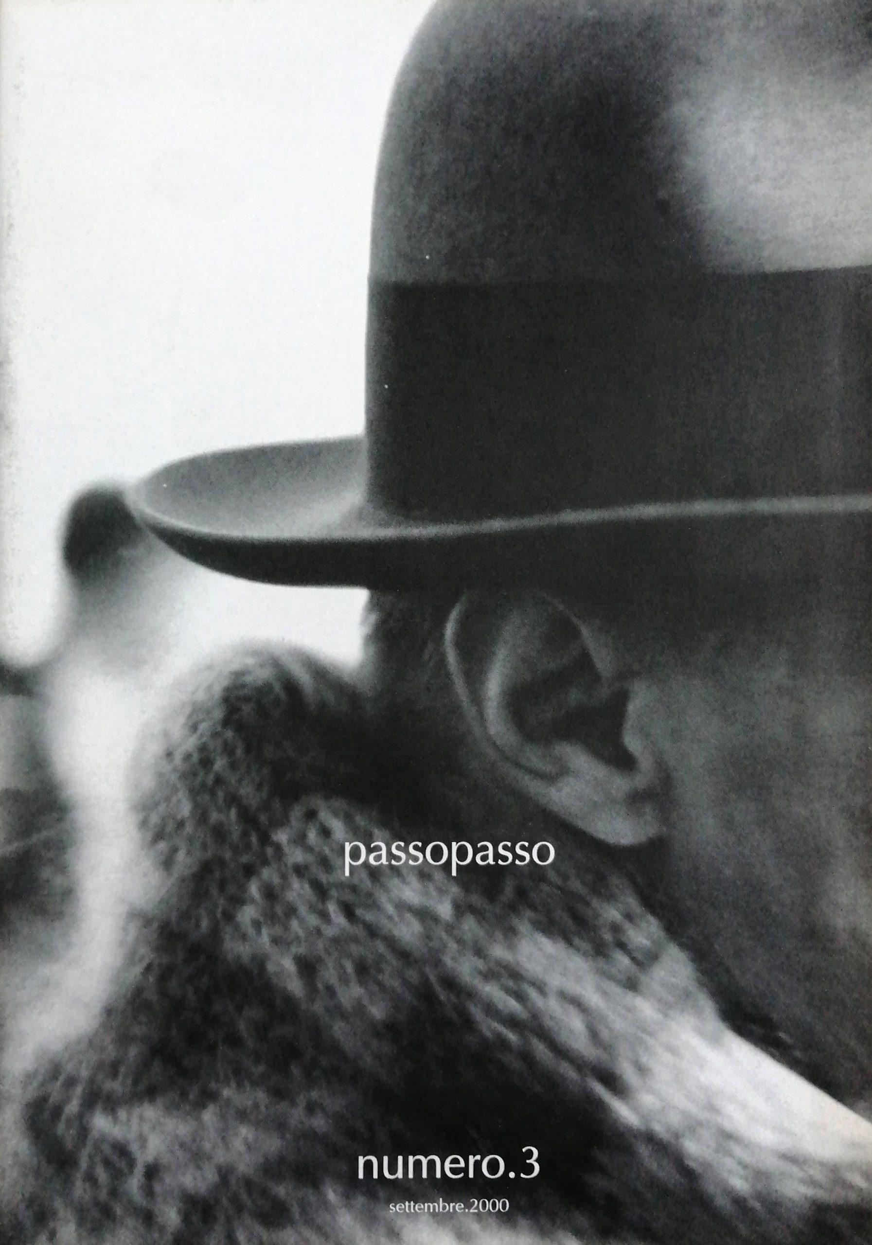 2000 Passopasso 3 rivista catalogo scaled - Bibliography/ Catalogues