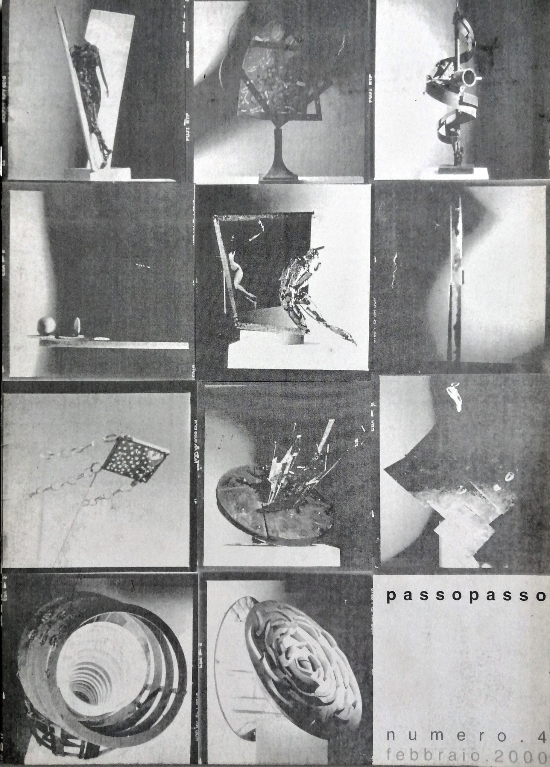 2000 Passopasso 4 rivista catalogo scaled - Bibliography/ Catalogues