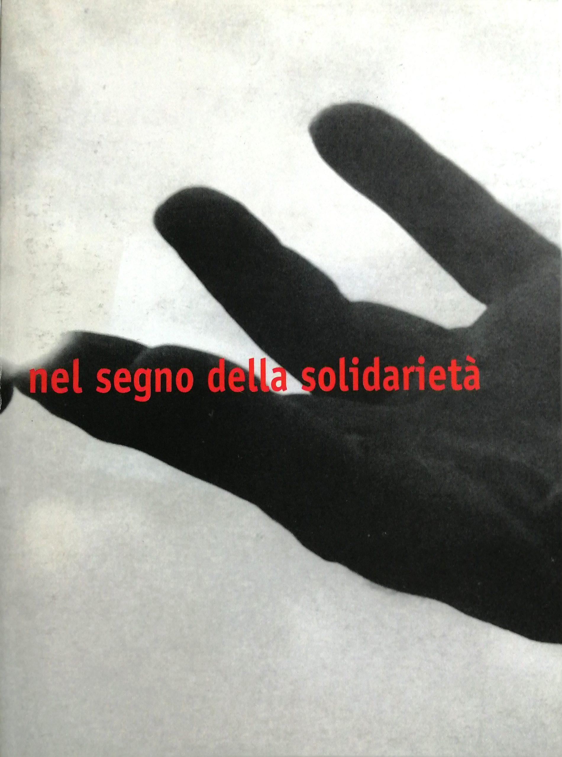 2001 Nel Segno della Solidarietà Sala Ubaldi Fabriano scaled - Bibliography/ Catalogues