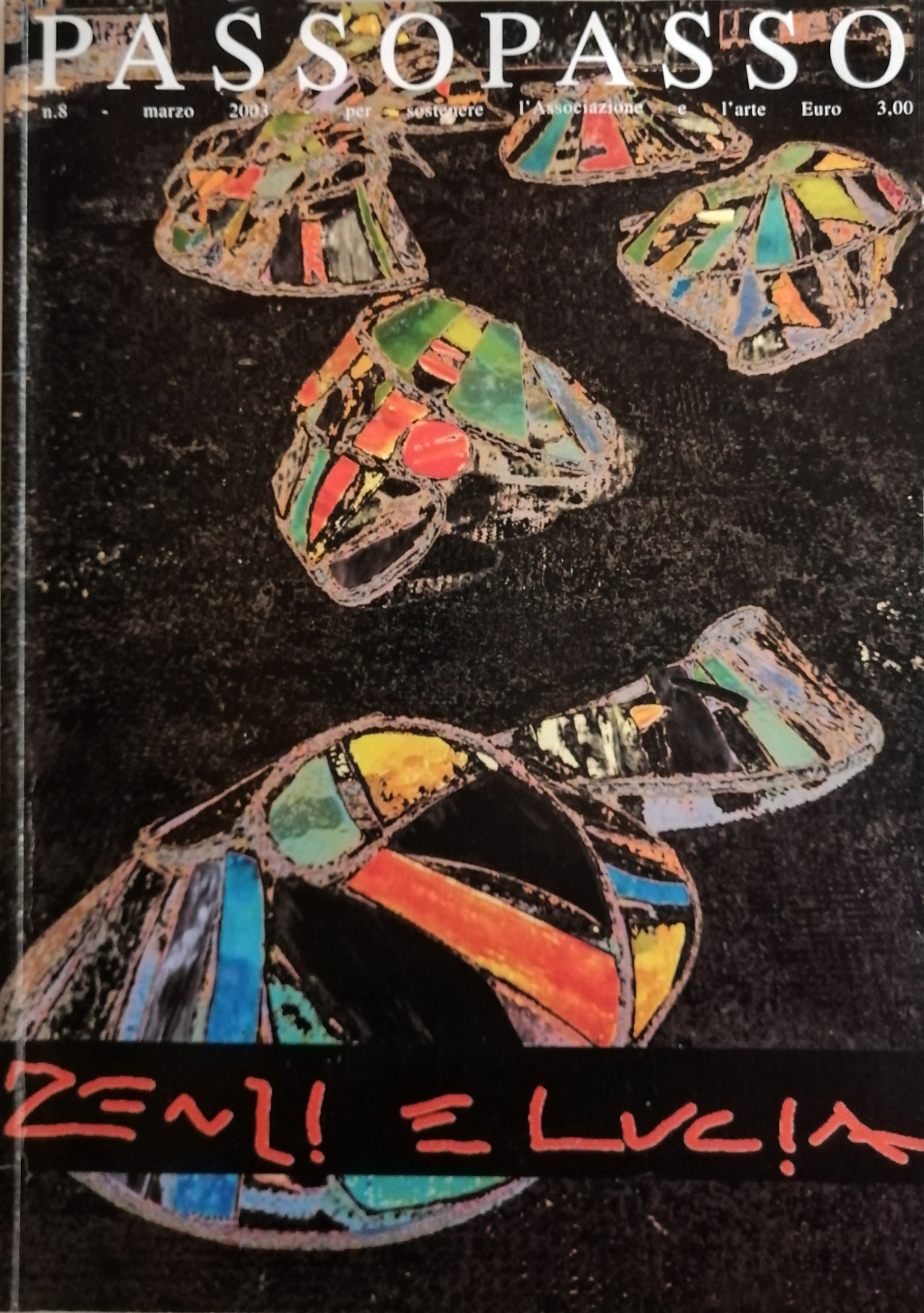 2003 Passopasso 8 rivista catalogo - Bibliography/ Catalogues