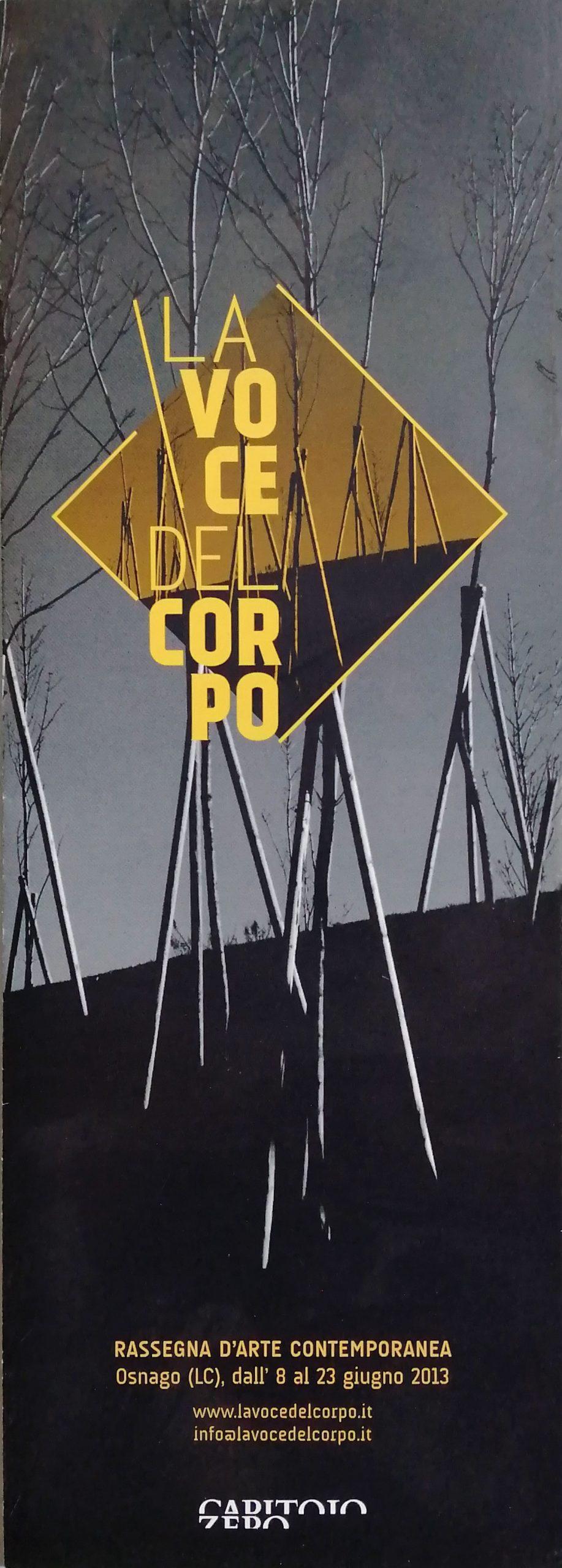 2013 La voce del corpo Osnago LC scaled - Bibliography/ Catalogues