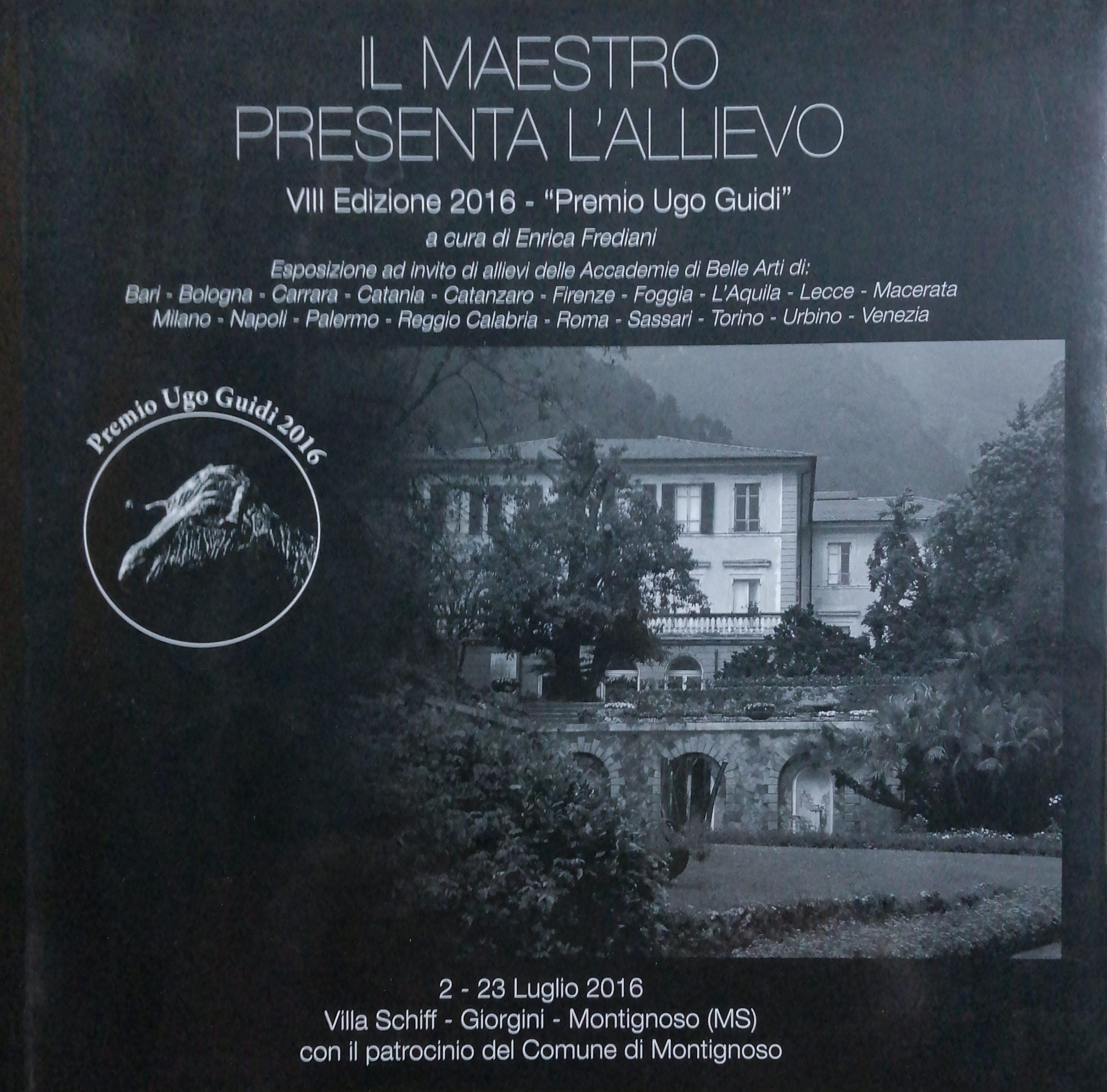2016 Il maetrso presenta lallievo Villa Schiff Montignoso scaled - Bibliography/ Catalogues