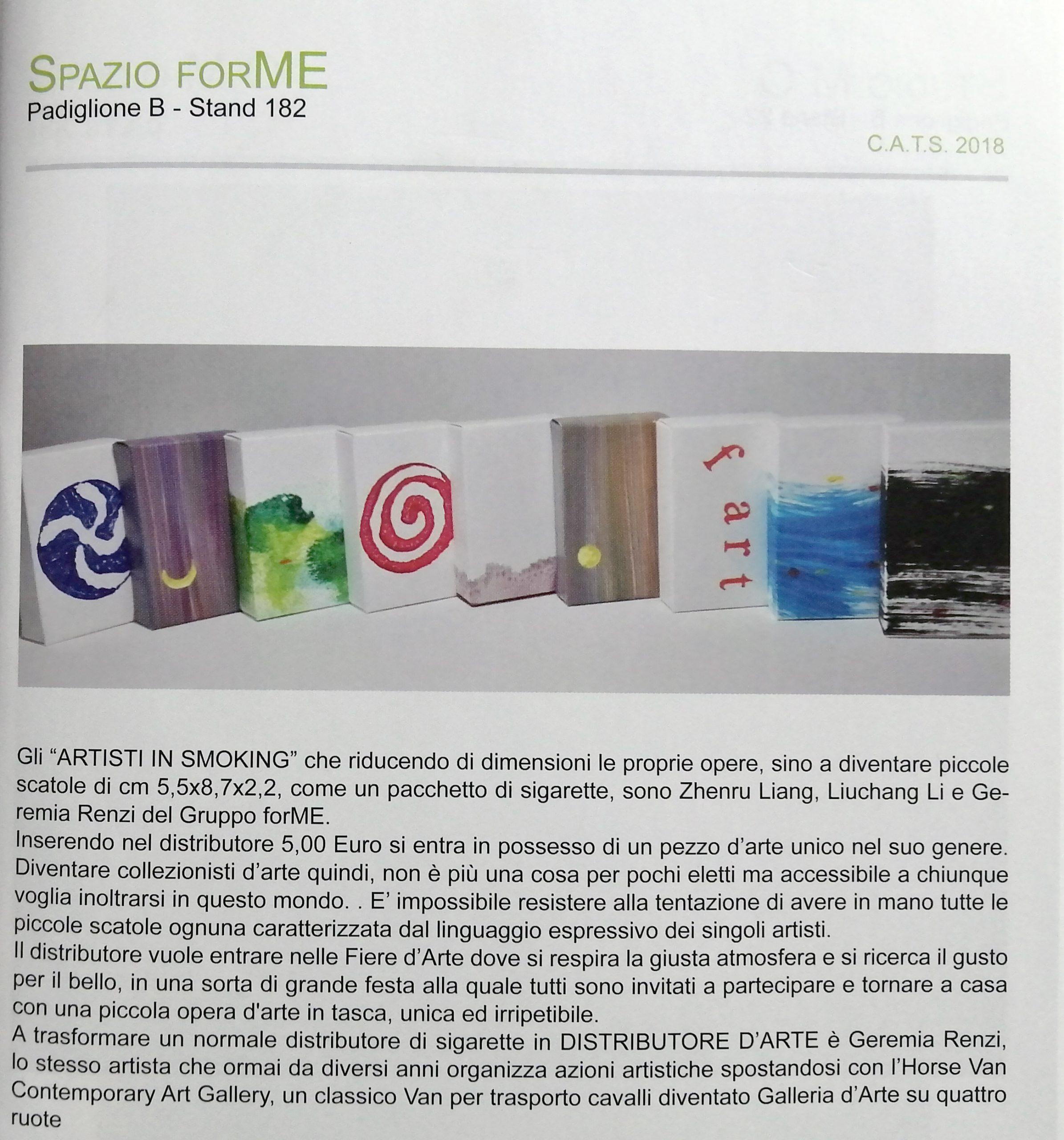 2018 Arte Genova Fiera di Genova immagine scaled - Bibliography/ Catalogues