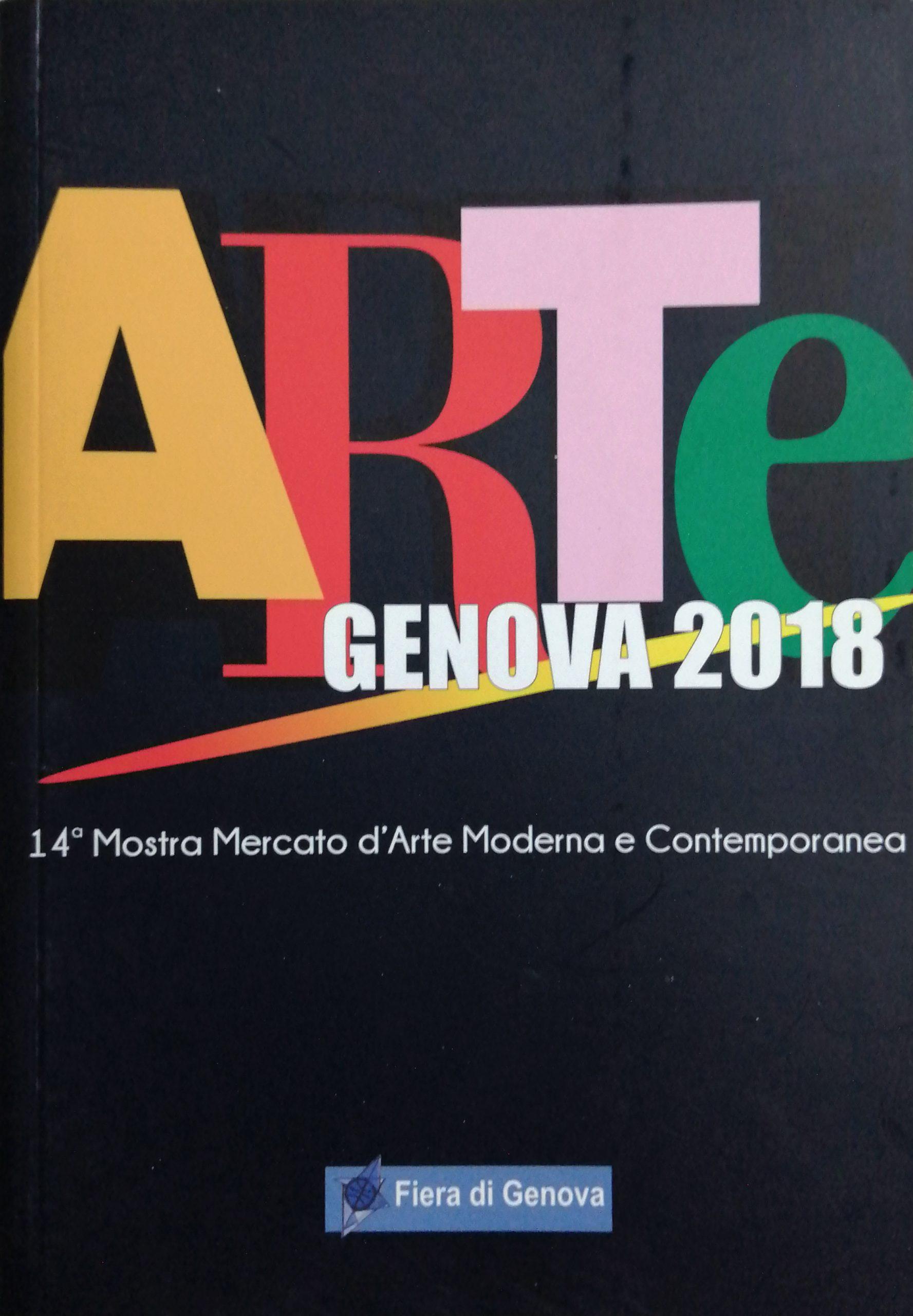 2018 Arte Genova Fiera di Genova scaled - Bibliography/ Catalogues