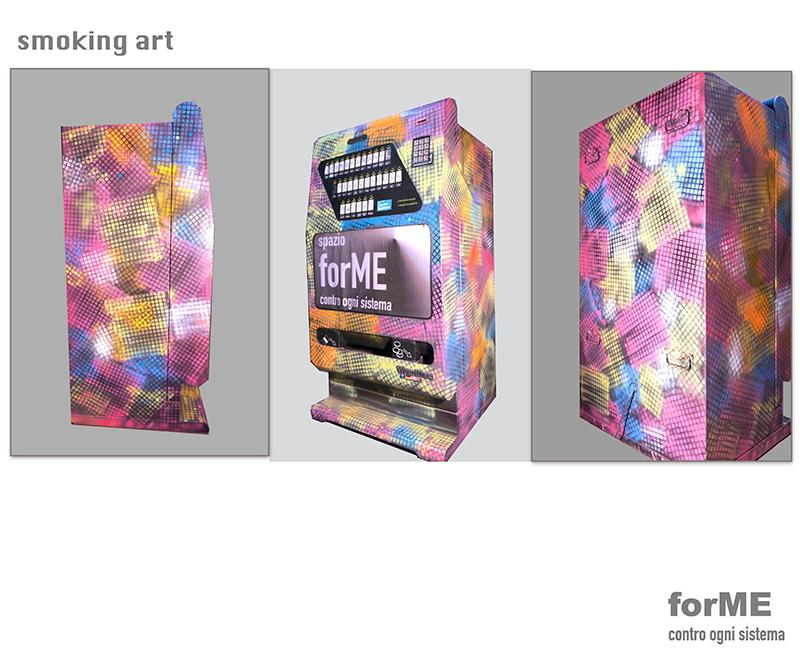 distributore dipinto 3 - smok'in ART